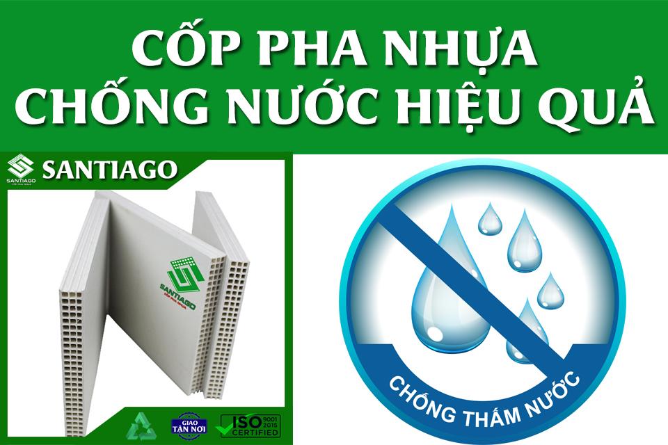 cốp pha nhựa chống nước chống tách ván