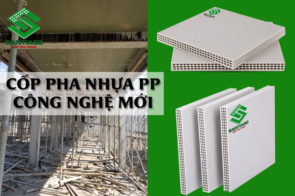 cốp pha nhựa pp công nghệ mới